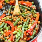 Healthy Sesame-Orange Ginger Chickpea Stir-Fry