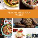 Summer SWEAT Series: Week 1 Meal Plan + Grocery List
