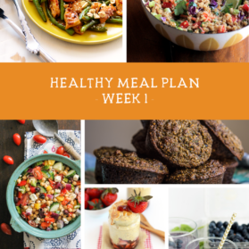 Healthy Clean Eating Meal Plan #SummerSWEATSeries