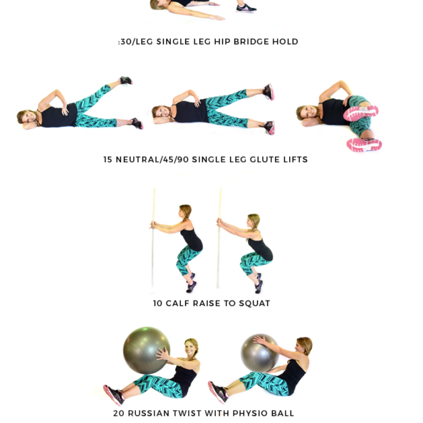 Rock Hard Core Stability Workout graphic