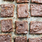 chocolate coconut flour brownies