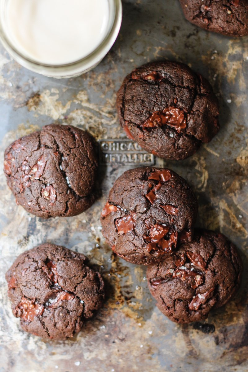 Chocolate cookie recipes without flour