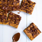 Chocolate Chip Coconut Flour Pumpkin Bars