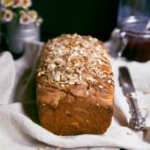Grandma's Honey Whole Wheat Sunflower Bread