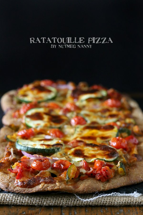 ratatouille pizza