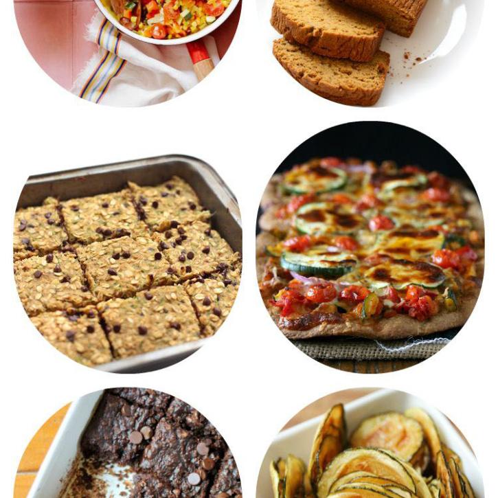 23 Healthy Zucchini Recipes To Make! #healthy #zucchini