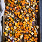 Wonderful Roasted Veggies with Parmesan, Olive Oil & Garlic
