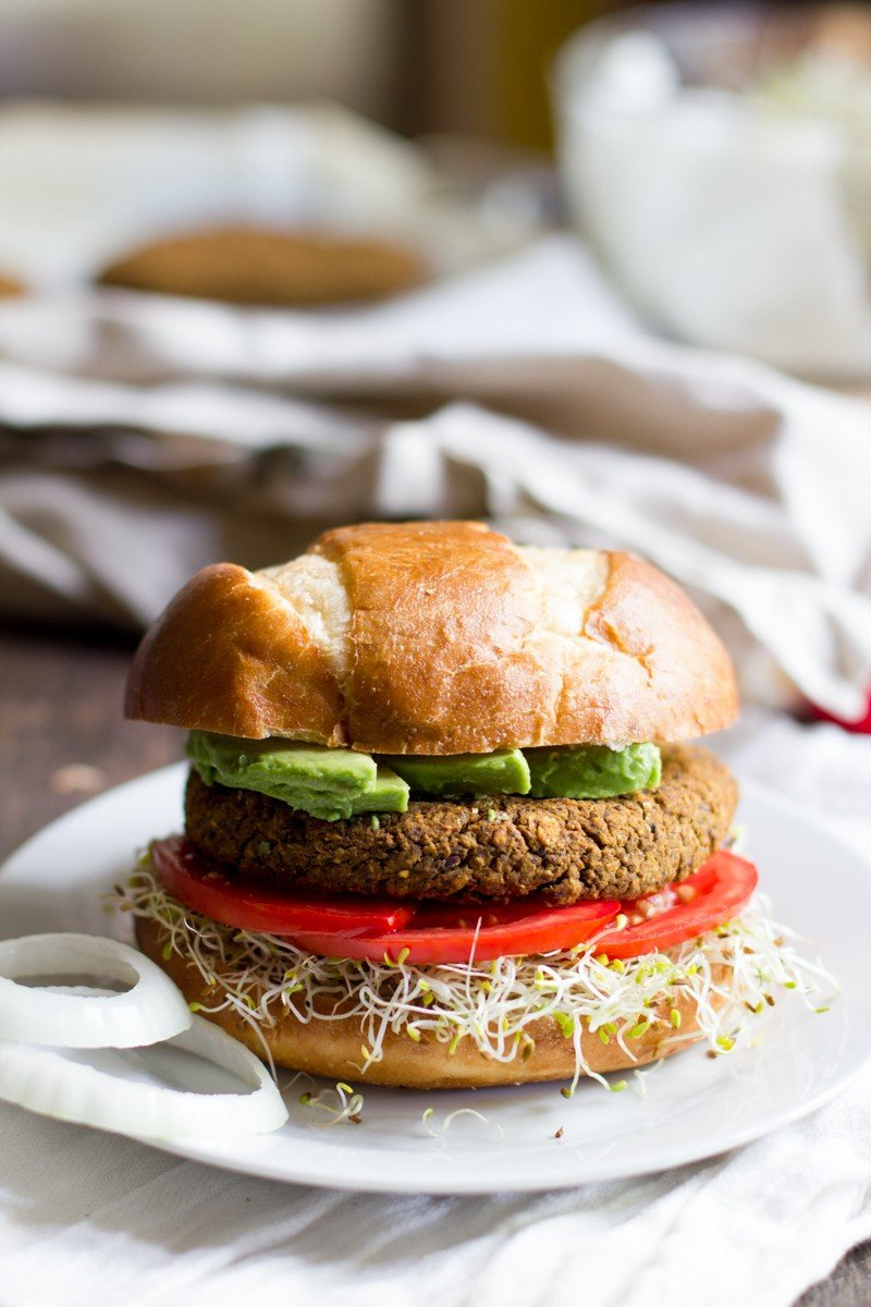 Pumpkin Black Bean Burgers - Back to Her Roots