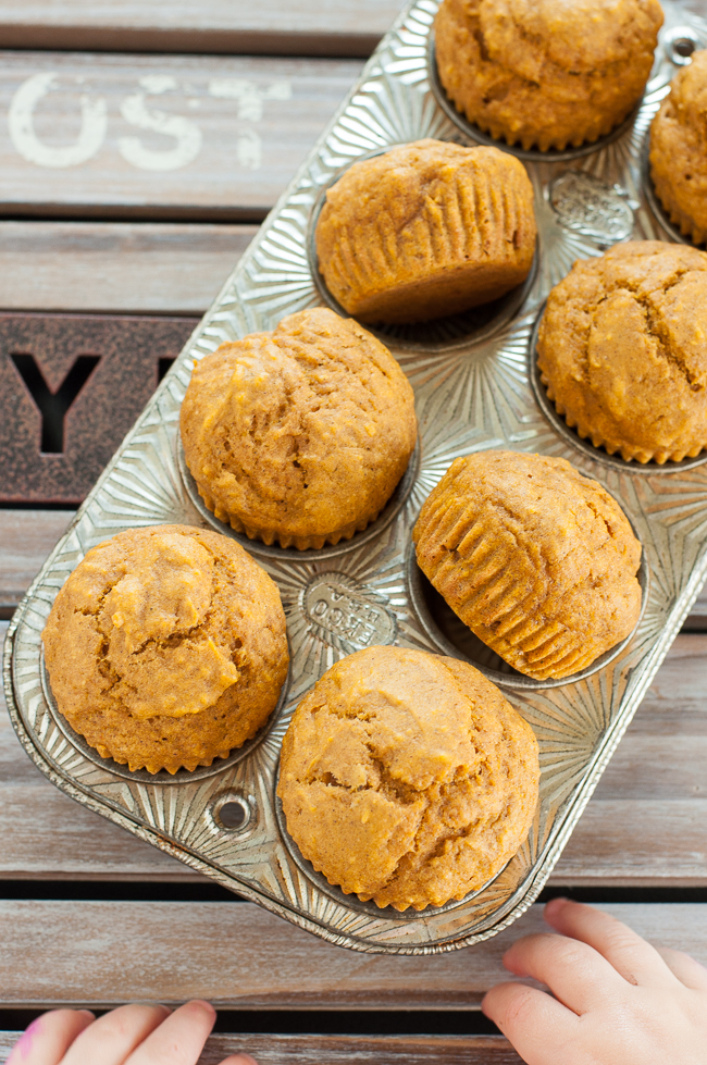 Pumpkin Muffins Peas and Crayons