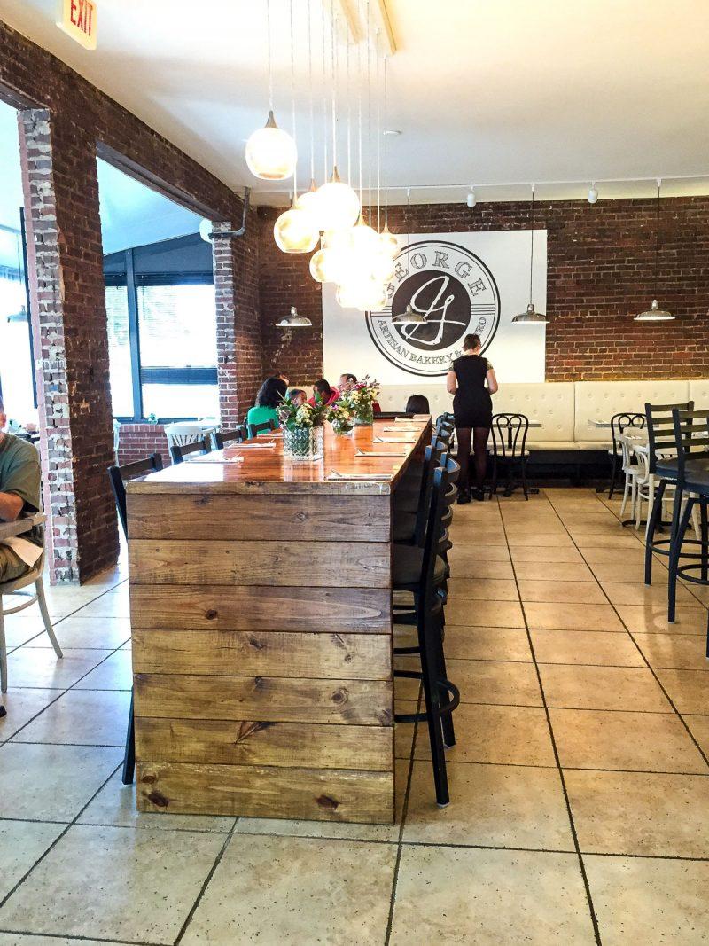 bakery restaurant interior