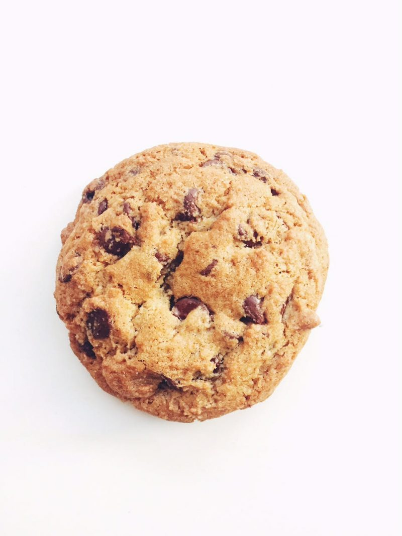 chocolate chip cookie from Wealthy Street Bakery in Grand Rapids, Michigan