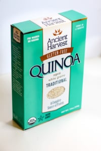 box of ancient harvest quinoa