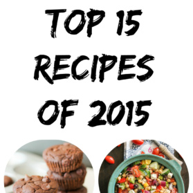 top recipes of 2015 collage