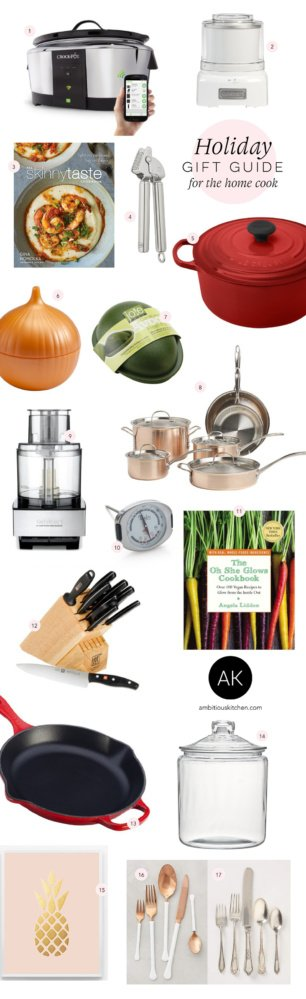 Holiday Gift Guide 2015: For the Home Cook/For the Kitchen