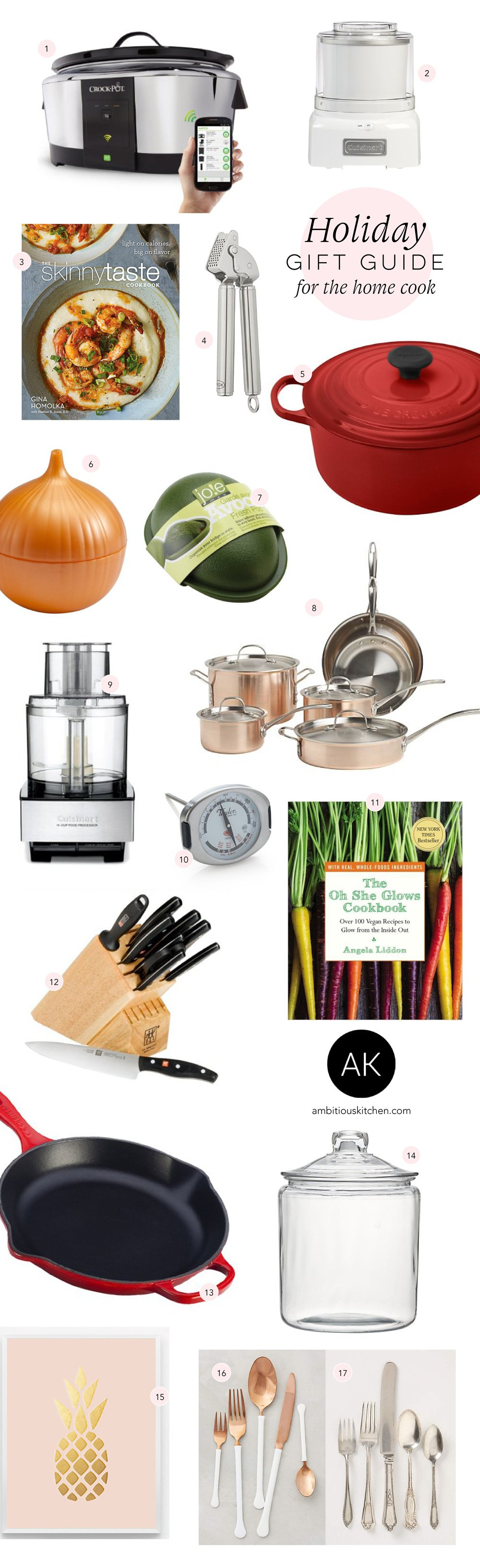 Gift For The Kitchen Ak Gift Guide 2015 For The Home Cook Ambitious Kitchen