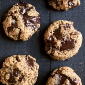 Paleo Chocolate Chunk Cookies