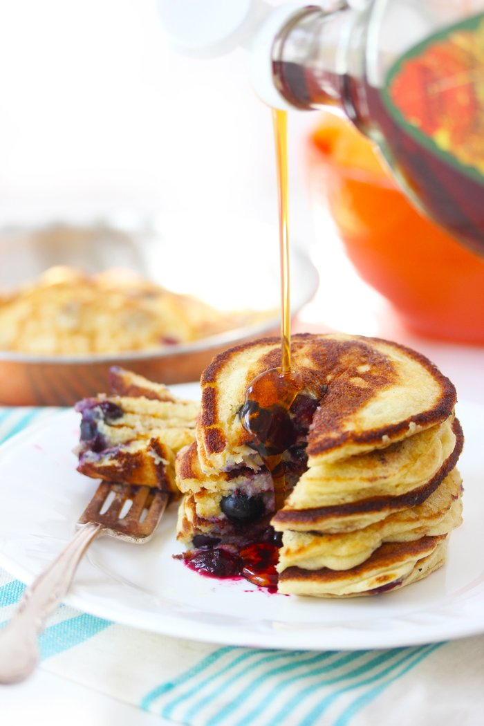 Fluffy Paleo Pancakes from Lexi's Clean Kitchen