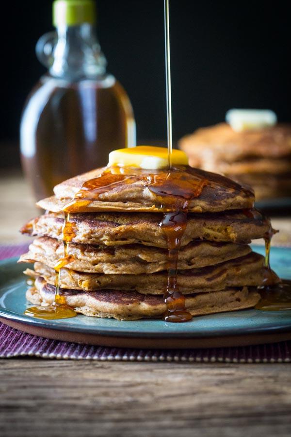 Gingerbread Apple Pancakes from Healthy Seasonal Recipes