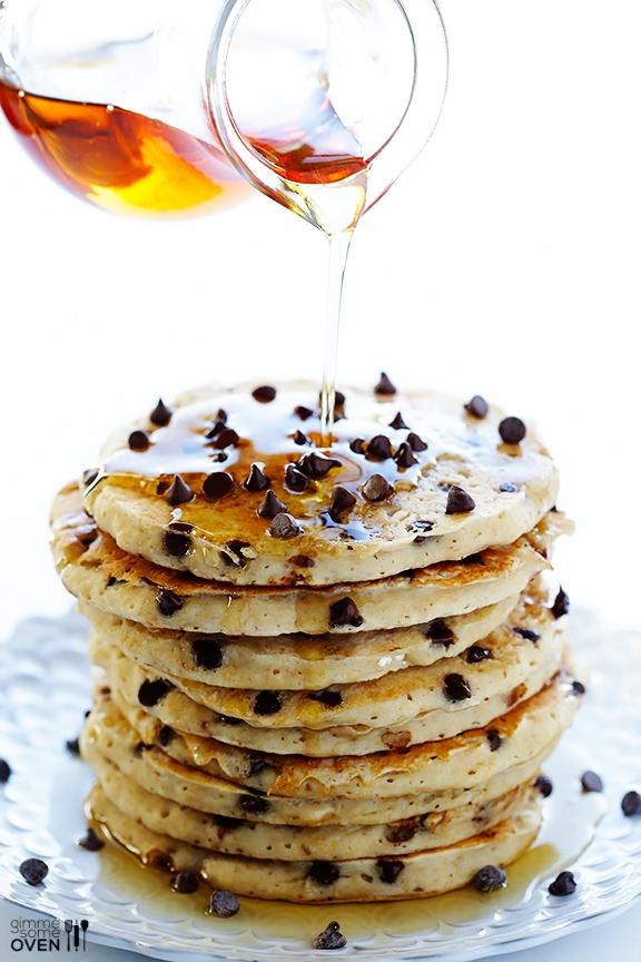 Guiltless-Chocolate-Chip-Pancakes-2