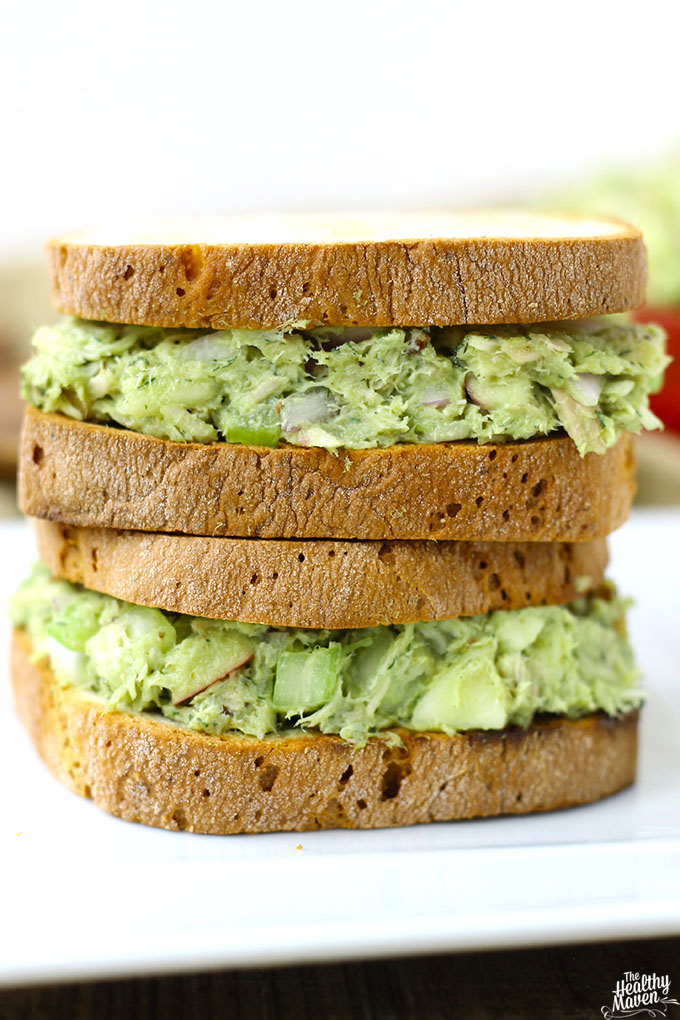 Avocado Tuna Salad from The Healthy Maven
