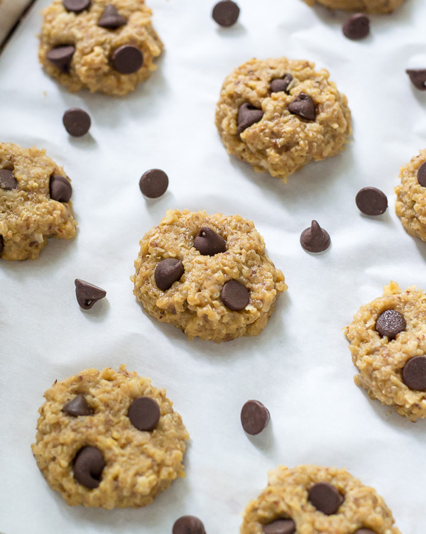 Chocolate Peanut Butter No Bake Quinoa Cookies from Well Plated