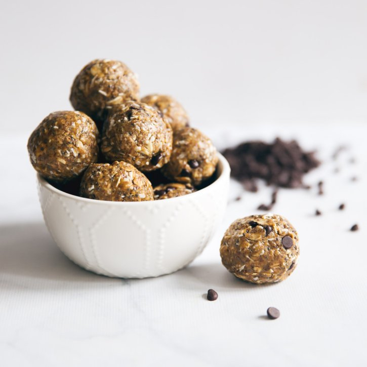Superfood Peanut Butter Protein Energy Bites