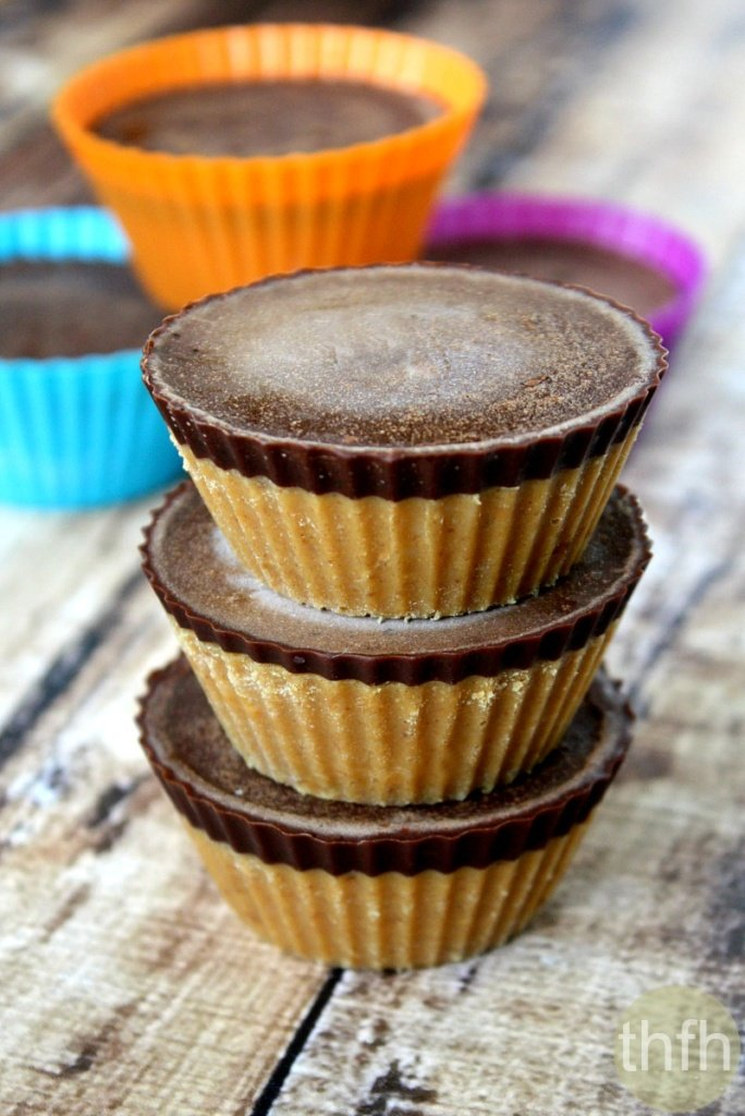Healthy Peanut Butter Cups from The Healthy Family and Home