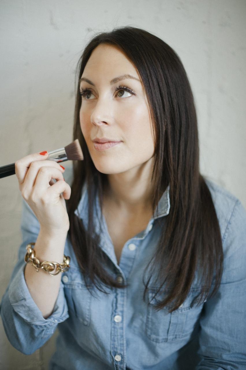 Elizabeth Dehn makeup shot