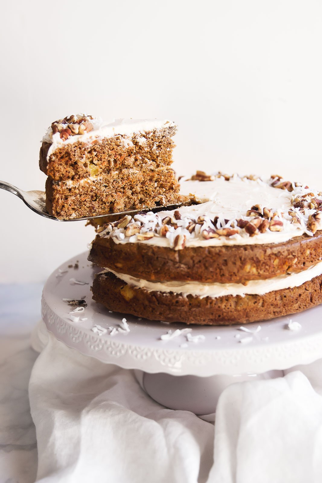 15. Gluten Free Carrot Cake with Cinnamon Cream Cheese Frosting