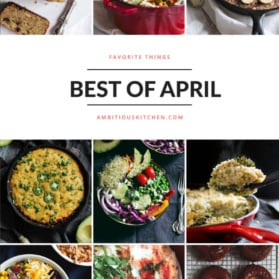 Ambitious Kitchen's Best of April 2016 graphic