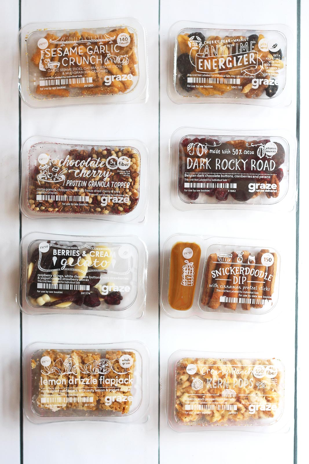 healthy snack packs from graze