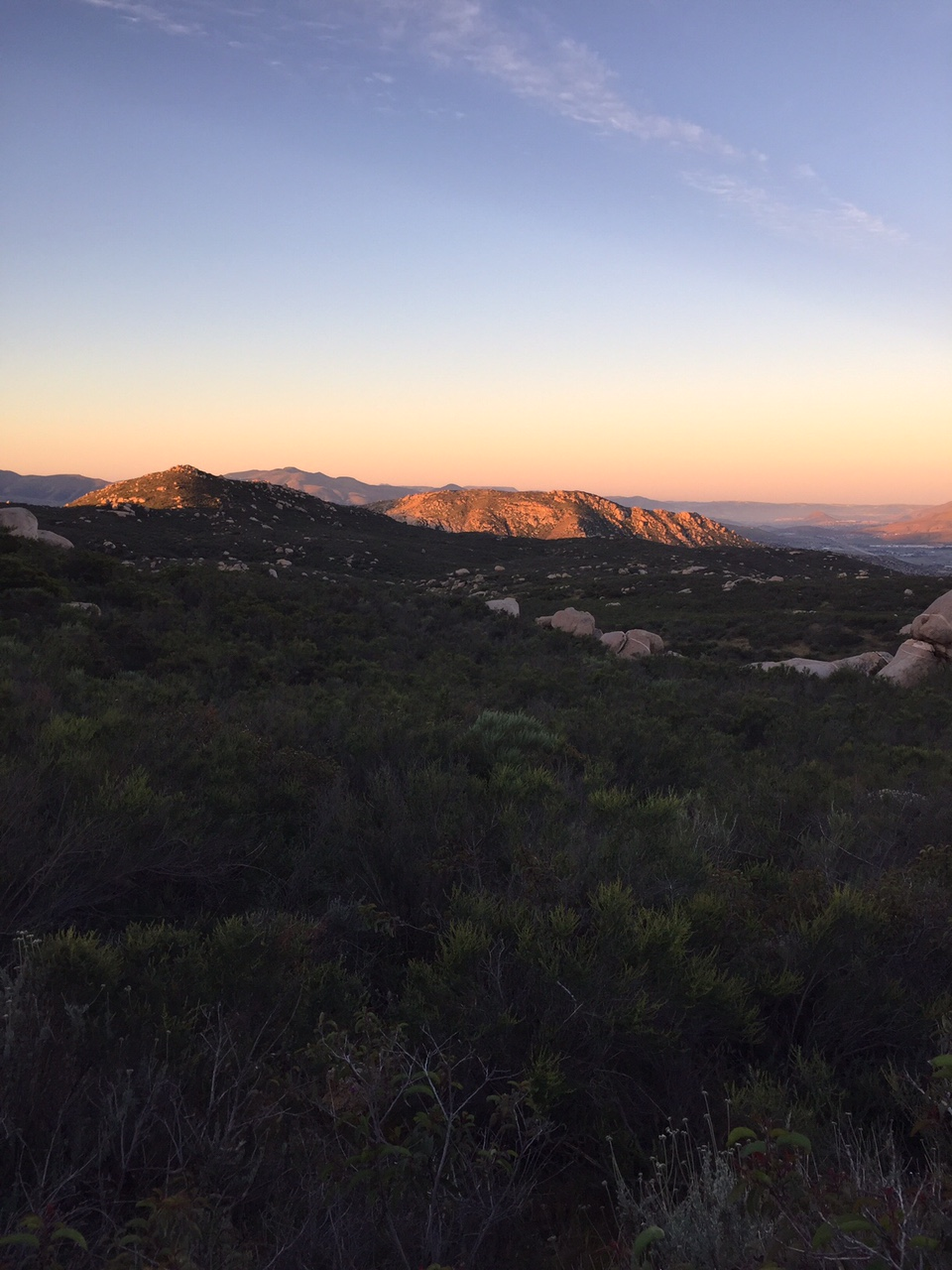 sunrise hike