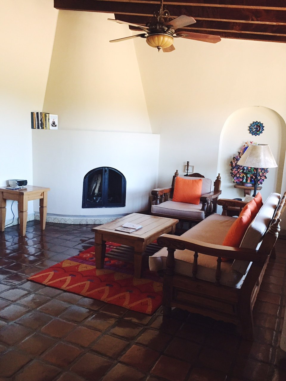 living room in rancho la puerta