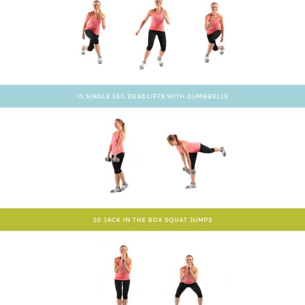 Daisy Duke Ready Lower Body workout graphic
