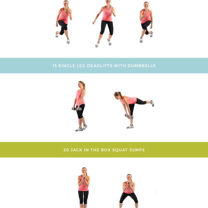 Daisy Duke Ready Lower Body + Plyometric Superset -- this workout is an amazing butt burner! #SummerSweatSeries