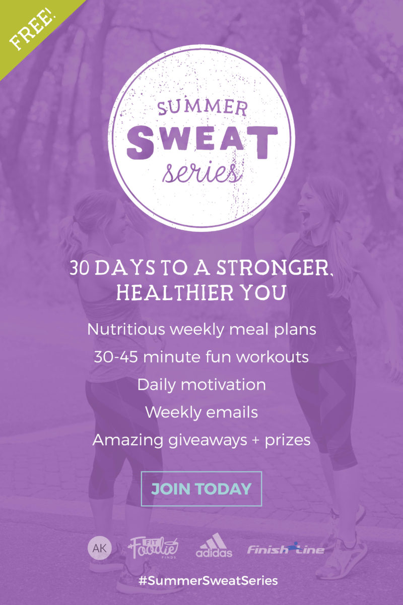 summer sweat series promo
