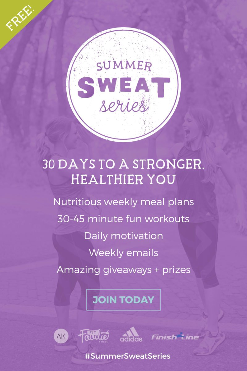 The 2016 Summer Sweat Series is back and starts June 5th! Get ready for 30 days of healthy meals, nutrition, killer workouts & motivation!