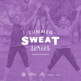 summer sweat series promo graphic
