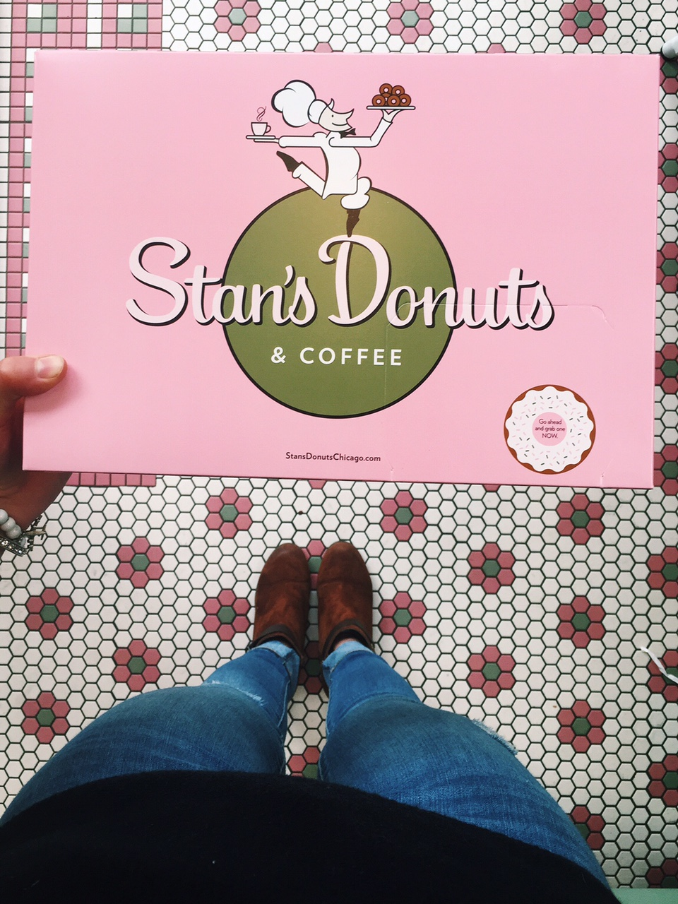 box of Stan's Donuts