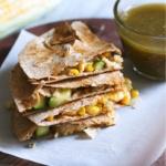 Vegetarian Calabacitas Quesadillas