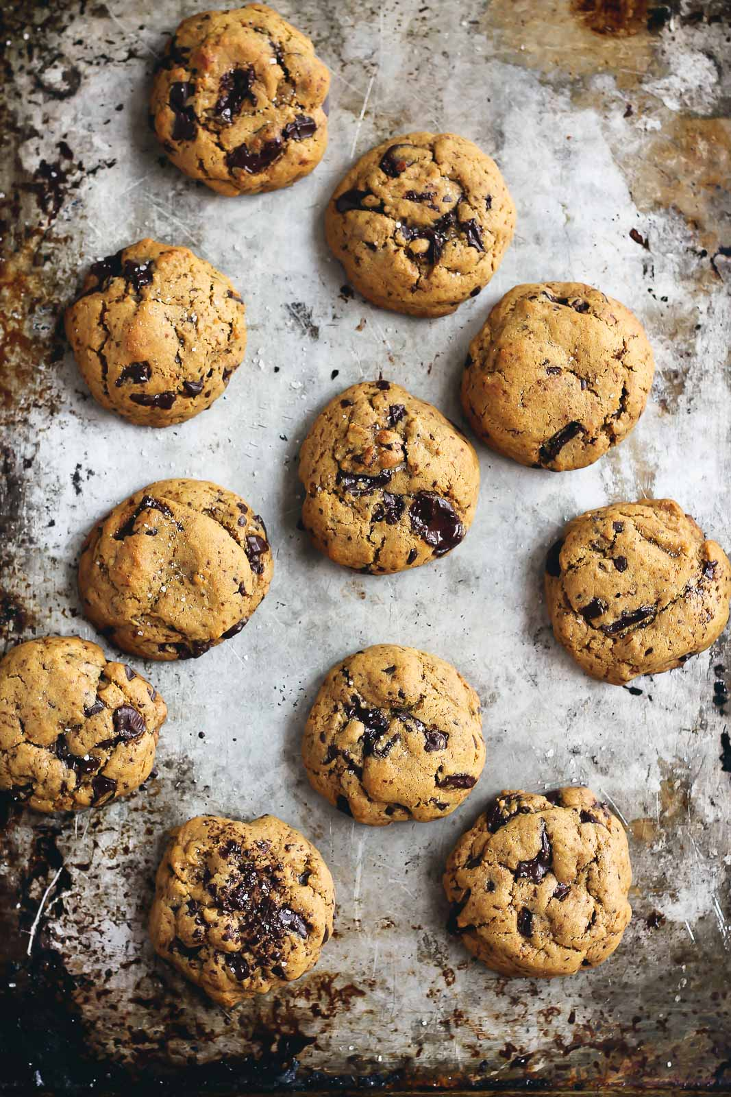 Chickpea Flour Chocolate Chip Cookies | Ambitious Kitchen