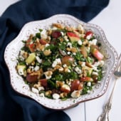 Ulitmate Fruit Nut and Cheese Salad