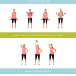 Get Lean Upper Body + Cardio Workout