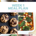 Summer Sweat Series 2016: Week 1 Nutrition Plan + Grocery List