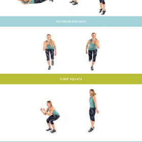 Summer Sweat Series BONUS workout graphic