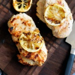 5-Ingredient Lemon Yogurt Marinated Grilled Chicken Breasts