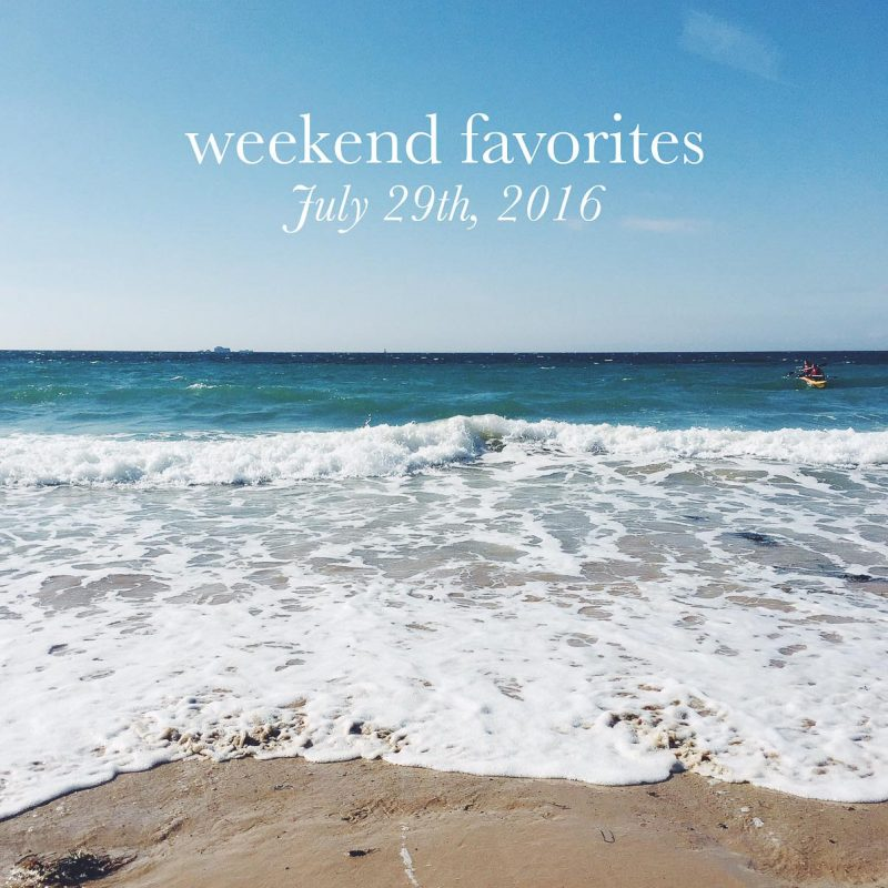 weekend favorites graphic