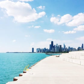 chicago lakefront path
