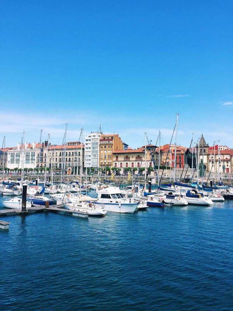 harbor in a european city