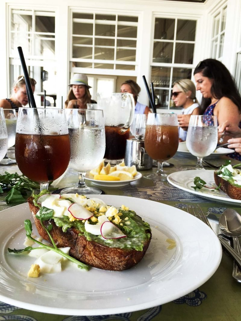 avocado toast on a plate